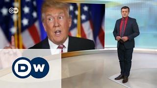 Белый дом   не место для дискуссий?   DW Новости (31 01 2017)