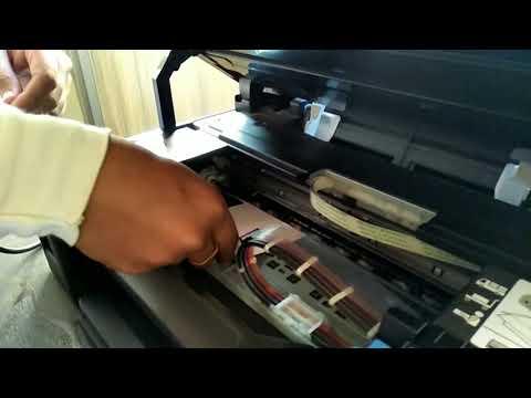 Canon G2000 Printer Reset & Paper Jam