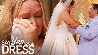Bride & Mother Get Emotional After Finding the Dress! | Say Yes To The Dress Ireland