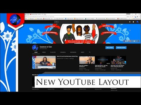 New YouTube Layout & How to Get it | 2017