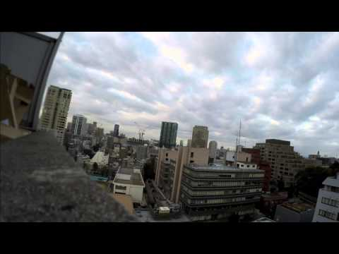 Morning in Minato-ku, Tokyo, GoPro Hero4 4k resolution