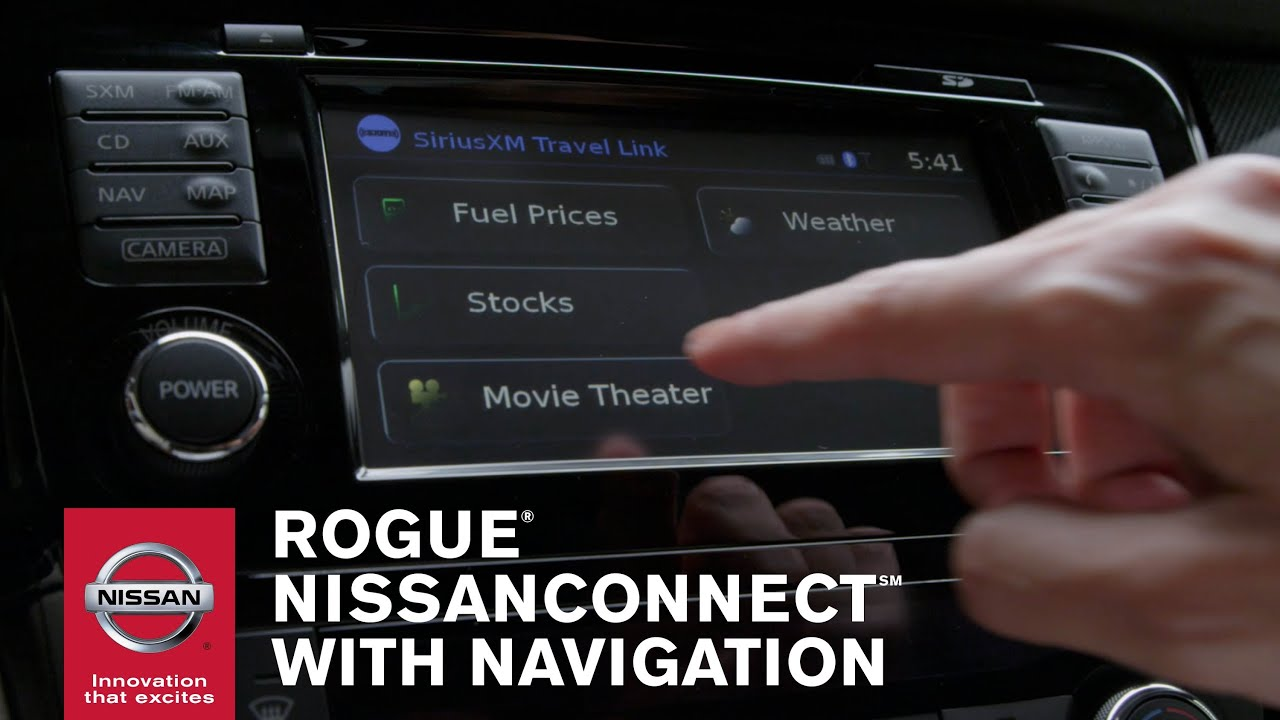 2014 Nissan Rogue Features Advanced NissanConnect™ System