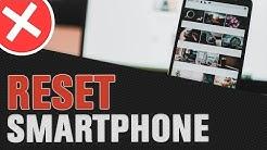 Smartphone komplett zurücksetzen - Android Hard Reset auf Werkseinstellungen (Tutorial)