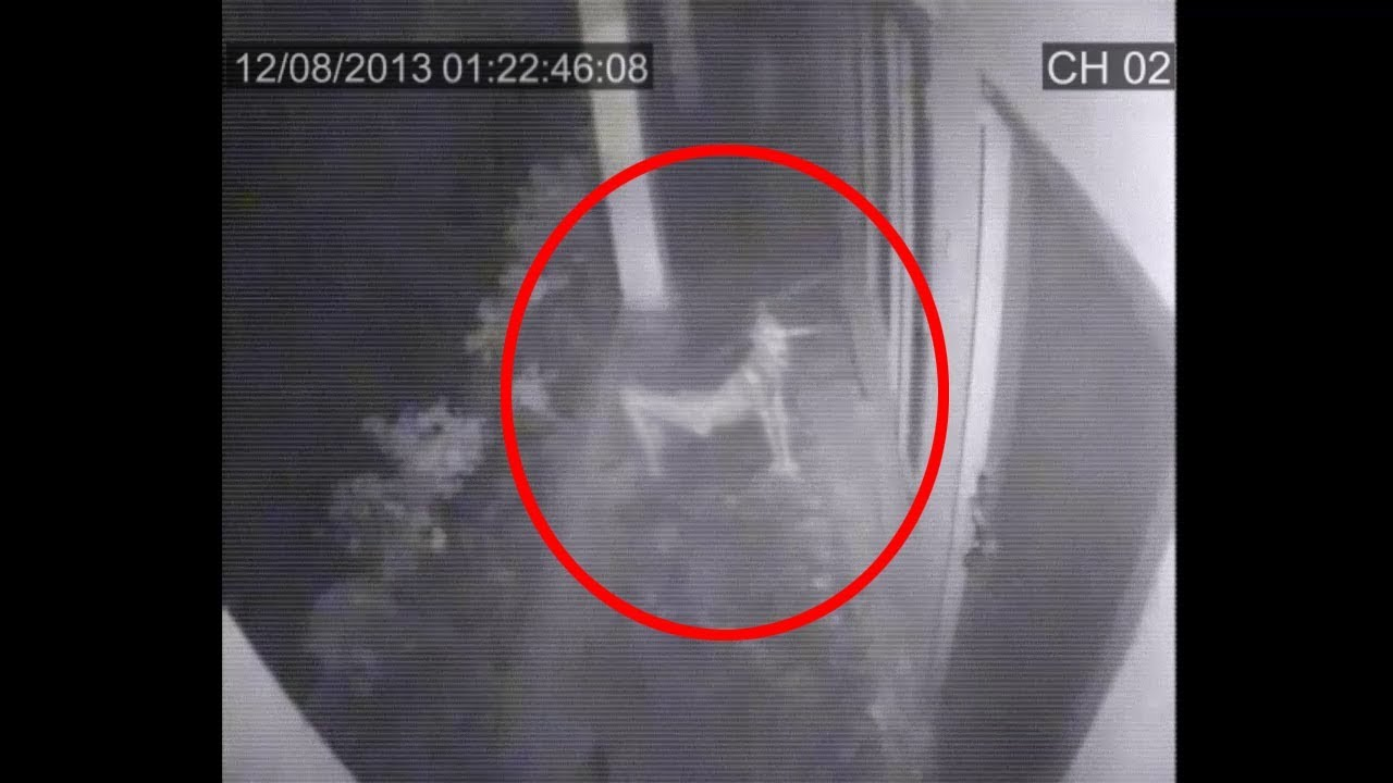 Shocking CCTV Ghost Footage | Real Ghost Caught On CCTV Camera ...