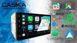 Central Multimídia Caska ZHD 2 Din - Full Touch Apple Carplay E Android Auto - [ Premier Shop ]