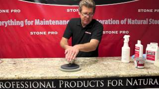 Stone Pro: How To Polish Granite Countertops