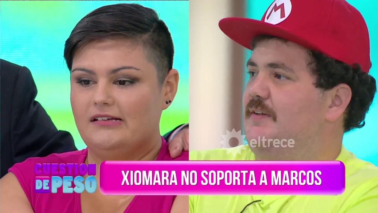 Xiomara no soporta a Marcos y se lo dijo en la cara - YouTube