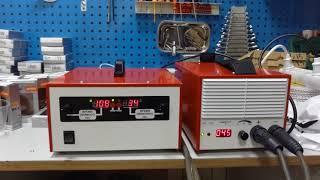 Гальваника с реверсом. Обзор выпрямителя для гальваники 200 А с автоматическим реверсным блоком.