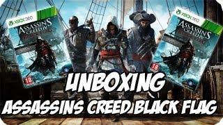 Unboxing l Assassins Creed Black Flag l Ed Normal