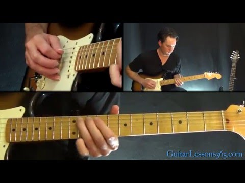 Lenny Guitar Lesson (Part 1) - Stevie Ray Vaughan