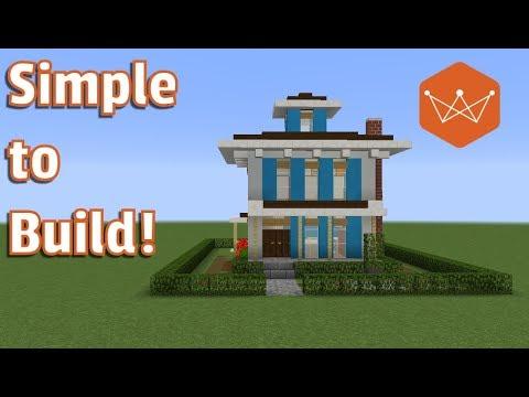 Minecraft Tutorial: how build an Italianate house (small)