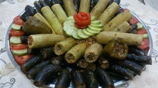 egyptaion stuffed vegetables     ماحشى الكوسه والبازنجان(sasy 's kitchen) مطبخ ساسى