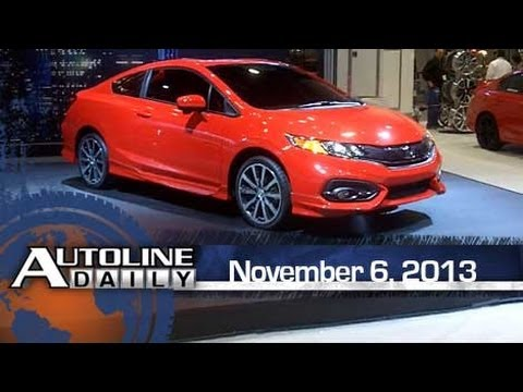 First Look - Honda Civic Coupe from the Floor of SEMA - Autoline Daily 1252