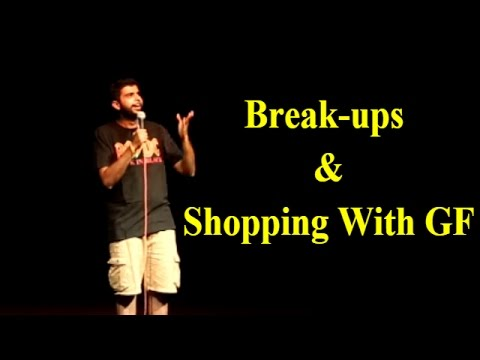 AAKASH MEHTA   BREAK-UPS & SHOPPING WITH GF   STAND UP COMEDY