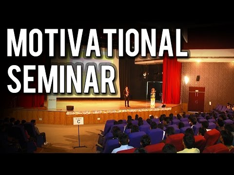 'Don't Push Deewar' : Motivational Seminar for Success in Hindi