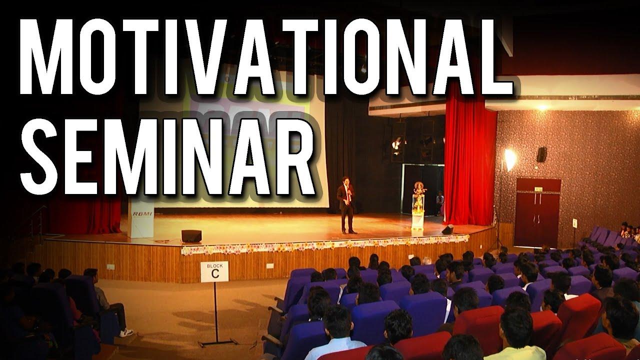 Don T Push Deewar Motivational Seminar For Success In Hindi Youtube