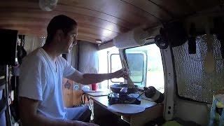 More Mods and Cooking Breakfast in the Van