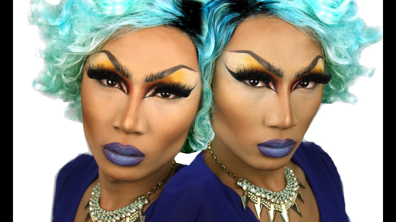 Drag queen makeup tutorial puki mon marc zapanta youtube baditri Images