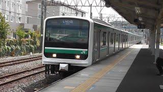 【基本編成最後の幕車】E501系K704編成 泉駅到着~発車まで