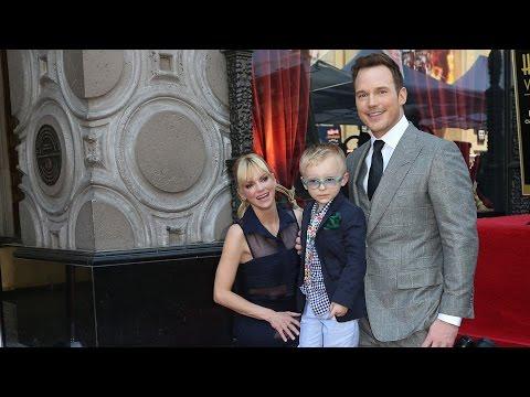 Chris Pratt  Hollywood Walk of Fame Ceremony