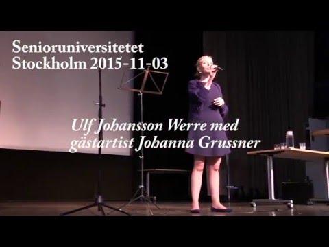 151103 Johanna Grüssner och Ulf Johansson Werre - Vem kan segla förutan vind