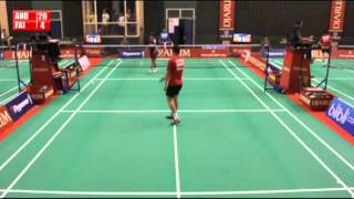 Andreas Adityawarman PB Djarum VS Faisal Firmasyah AUFA Kalsel