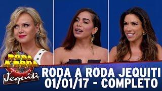 Roda a Roda Jequiti especial de Ano Novo com Anitta, Patricia Abravanel e Eliana