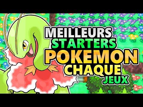 Les MEILLEURS STARTERS de CHAQUE JEU POKEMON