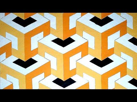 3D wall art draw painting wallpaper | tutorial membuat cat dinding 3D | desain interior thumbnail