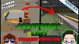 Roblox - CodePrime8 Labs - Creating Lumber Tycoon 2 Conveyor