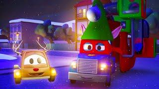Большие сани Супер Грузовика - Трансформер Карл в Автомобильный Город 🚚 ⍟ детский мультфильм