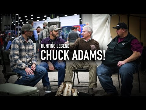 Incredible Outdoorsman CHUCK ADAMS! Full ConversationCampfire Stories