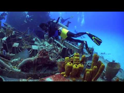 Cayman Brac Russian Frigate 356   March 14, 2017 Dive Reef Divers