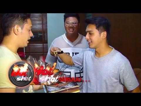 Hot Shot Seruuu: Kejutan Ultah Ricky Harun ke-31 - Hot Shot 12 Januari 2018