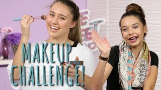 Not My Hands Makeup Challenge with MakeupByMandy24