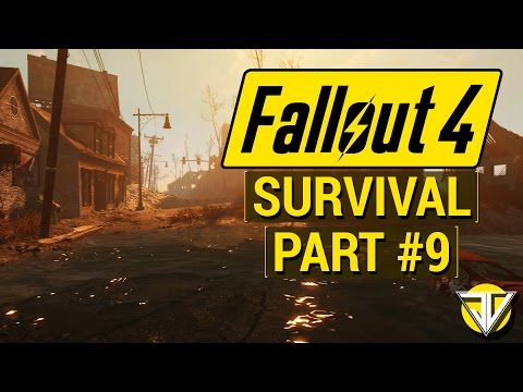 FALLOUT 4: SURVIVAL MODE Let's Play Part 9 - Tracking KELLOGG! (PC Gameplay Walkthrough)