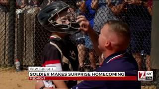 Upstate Army Captain surprises son at baseball game