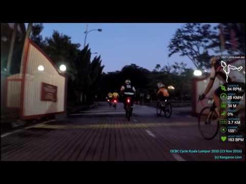 Cycling Journey - OCBC Cycle Kuala Lumpur 2016 (13 Nov 2016)