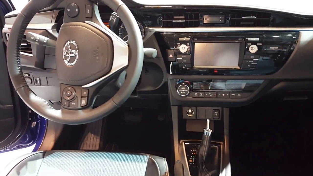 2016 Toyota Corolla S Interior Walkaround Price Site