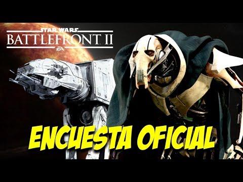 ENCUESTA OFICIAL de STAR WARS BATTLEFRONT 2 EA (Diciembre 2018) thumbnail