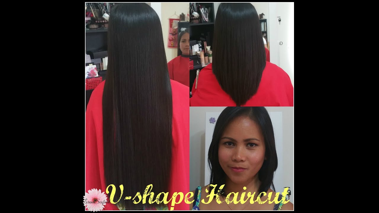 2016 V Shape Haircut LorenaS