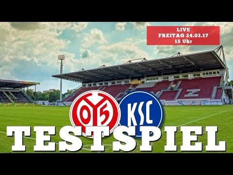 LIVE: Testspiel | 1. FSV Mainz 05 – Karlsruher SC | 05er.tv | 05er.fm
