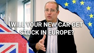 Will my car arrive before Brexit???