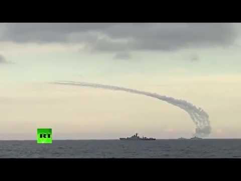 ВМФ РФ наносит удар по объектам ИГ из акватории Каспийского моря