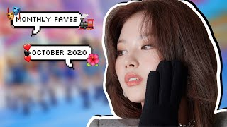 monthly faves | kpop songs of october 2020