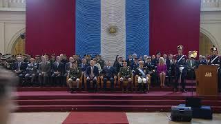 El presidente Macri encabeza la ceremonia por el Aniversario del Colegio Militar