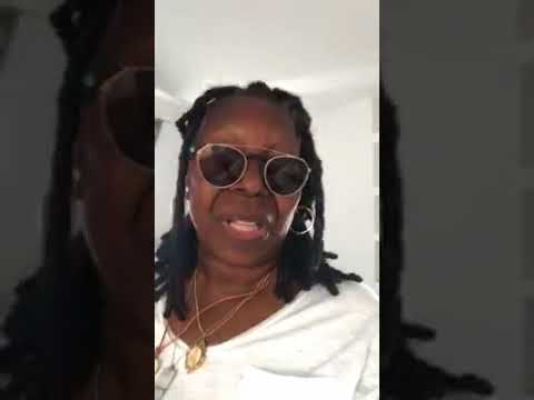Whoopi Goldberg (Live instagram) from Greece (antiparos)