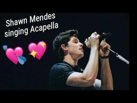 Shawn Mendes Singing Acapella! 🔮😌✨