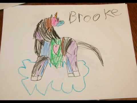Horse Drawings By Six Year Old - YouTube