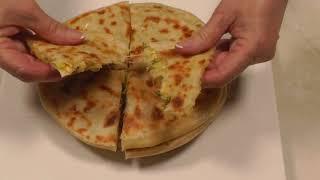 Рецепт чуду лепешки с сыром и картошкой